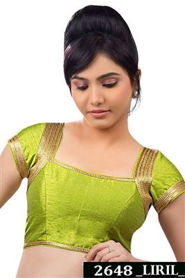 image of Green Designer Blouse