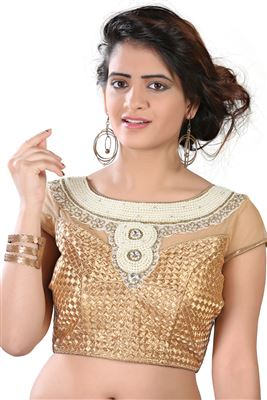 image of Party Wear Shimmer Blouse