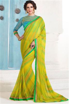 image of Beige Silk-Jacquard Designer Saree with Embroidery