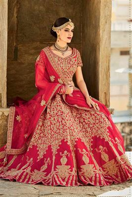 image of Admirable Black Color Wedding Wear Designer Lehenga Choli in Fancy Fabric