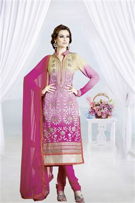 image of Pakistani Cotton Printed Dress Material