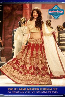 image of Black Color Bollywood Replica Silk Fabric Lehenga Choli by Prachi Desai