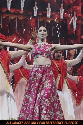 image of Zareen Khan Wedding Bridal Lehenga Choli