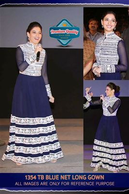 image of Tamanna Bhatia Bollywood Replica Designer Suit