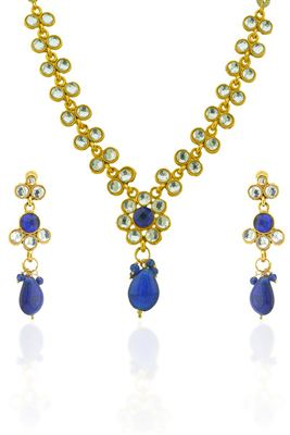 image of Wedding Wear Designer Imitation Necklace Set