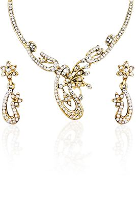 image of Fancy Imitation Metal Necklace Set