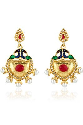 image of Eminent Fashionable Imitation Party Wear Earrings