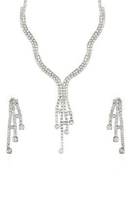 image of Wedding Wear Designer Imitation Necklace Set