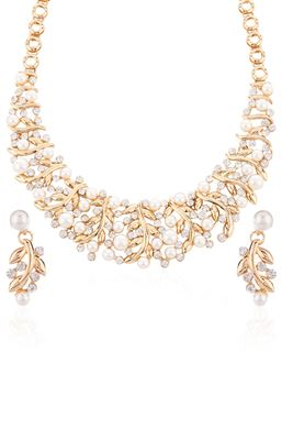 image of Leonine Designer Imitation Necklace Set