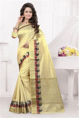 image of Blue-Green Color Riveting Georgette-Brasso Saree