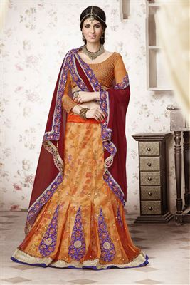 image of Wedding Wear Designer Lehenga Choli