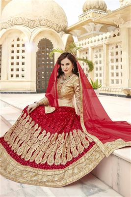 image of Pink Occasional Wear Designer Lehenga Choli