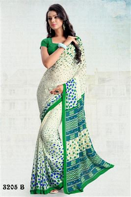 image of Admirable  Georgette Party Wear Saree