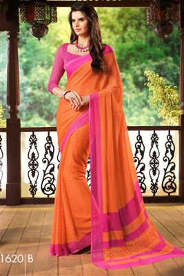 image of Green Color Party Wear Silk Saree With Silk Blouse