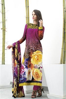 image of Enchanting Cream Designer Salwar Kameez