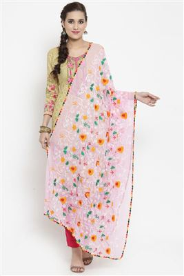 be0a302636 Buy Black Printed Dupatta In Cotton With Tassels Online 17858377607