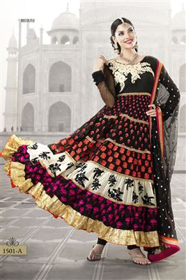 image of Scintillating Designer Party Wear Salwar Suit