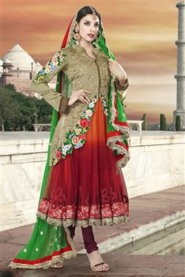 image of Beautiful Party Wear Anarkali Salwar Suit