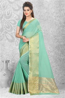 image of Riveting Georgette Party Wear Printed Saree
