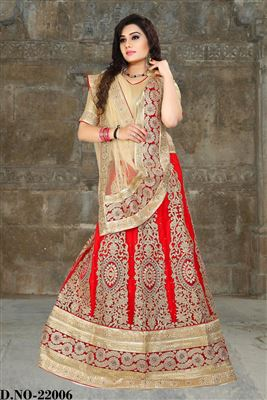 image of Zarine Khan Coffee Sharara Top Lehenga Choli-22008