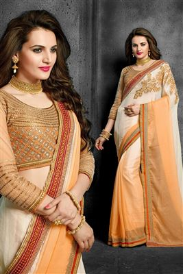 image of Admirable Georgette Party Wear Saree-208