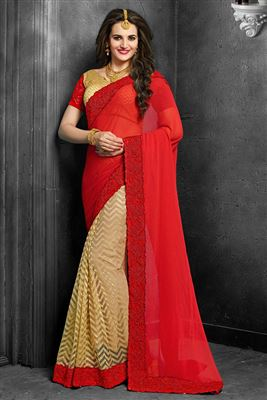 image of Pink Color Party Wear Traditional Silk Saree