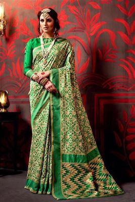 image of Elating Georgette Party Wear Saree