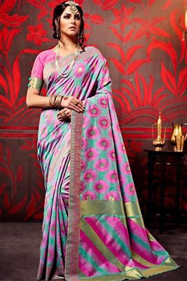 image of Incredible Georgette Party Wear Saree