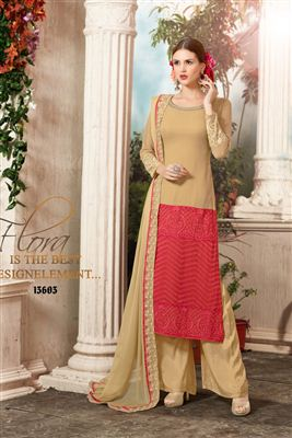 image of Ravishing Pink Color Designer Salwar Kameez