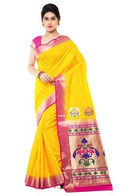 image of Splendid Designer Party Wear Georgette Sari-13016C