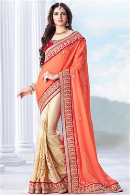 image of Divine Wedding Wear Designer Saree