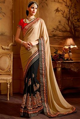 image of Fascinating Chiffon Party Wear Saree