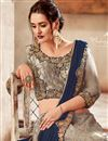 photo of Eid Special Embroidered Grey Color Designer 3 Piece Lehenga In Satin And Net Fabric