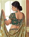 photo of Embroidered Cream Bridal Lehenga In Art Silk Fabric with Designer Choli