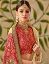 photo of Art Silk Fabric Party Wear Saree In Chikoo Color With Embroidery Work And Blouse