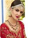 photo of Art Silk Fabric Party Wear Saree In Salmon With Embroidery Work