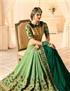 photo of Festive Special Embellished Art Silk Function Wear Half Half Saree