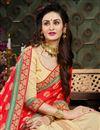 photo of Wedding Function Wear Viscose Saree With Zari Work