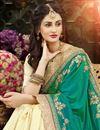 photo of Zari Embroidery Work Art Silk Function Wear Fancy Saree