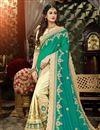 image of Zari Embroidery Work Art Silk Function Wear Fancy Saree