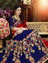 photo of Wedding Wear Georgette Saree With Zari Work Embroidery