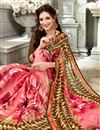 photo of Printed Designs On Pink Daily Wear Saree In Fancy
