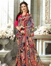 image of Multicolor Daily Wear Saree In Fancy Fabric With Simple Blouse