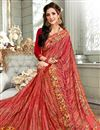 photo of Orange Fancy Fabric Office Wear Saree With Simple Blouse