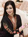photo of Black Color Party Wear Designer Salwar Kameez Featuring Ayesha Takia