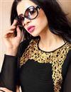 photo of Stunning Black Color Georgette Fabric Festive Wear Designer Kurti