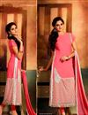 image of Beguiling Pink Color Designer Salwar Suit
