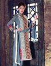 image of Impressive Festive Wear Embroidered Salwar Kameez