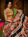 photo of Beige-Orange Color Banglori Silk Designer Lehenga