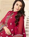 photo of Karisma Kapoor Pink Pakistani Georgette Suit